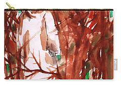 Christ In The Forest Carry-all Pouch