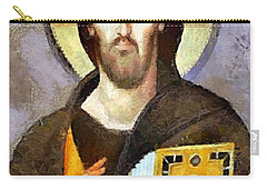 Christ Pantocrator Of Sinai Carry-all Pouch