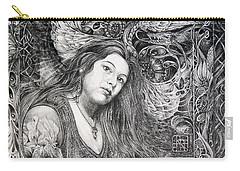 Christan Portrait Carry-all Pouch