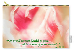 I Will Restore Health To You  Carry-all Pouch