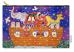 Christmas Ark Carry-all Pouch