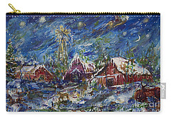 Christmas Carry-all Pouch by Avonelle Kelsey