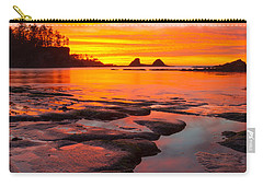 Christmas Blessings Carry-all Pouch by Patricia Davidson