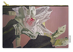 Christmas Bloom Carry-all Pouch by Claudia Goodell