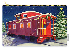 Christmas Caboose Carry-all Pouch