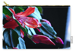 Christmas Cactus In Bloom Carry-all Pouch