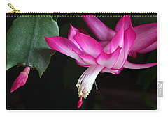 Christmas Cactus November 2014 1 Carry-all Pouch by Mary Bedy