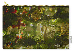 Carry-all Pouch featuring the photograph Christmas Cheer by Cassandra Buckley