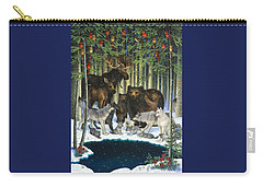 Christmas Gathering Carry-all Pouch