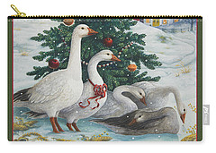 Christmas Geese Carry-all Pouch
