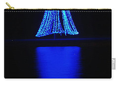 Christmas In Blue Carry-all Pouch