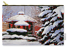 Christmas In Chagrin Falls Carry-all Pouch