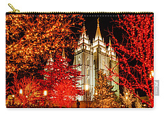Christmas In Red Carry-all Pouch
