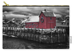 Christmas In Rockport New England Carry-all Pouch
