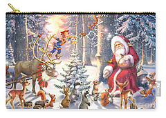 Christmas In The Forest Carry-all Pouch