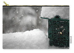 Christmas Lantern Carry-all Pouch by Katie Wing Vigil