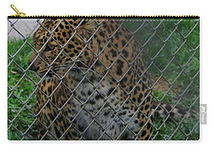 Christmas Leopard I Carry-all Pouch