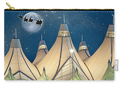 Christmas Night At Denver International Airport Carry-all Pouch