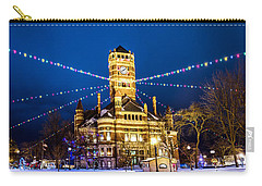 Carry-all Pouch featuring the photograph Christmas On The Square by Michael Arend