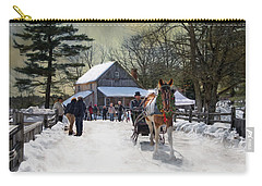 Christmas Paint Carry-all Pouch by Robin-Lee Vieira