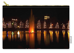 Christmas Reflection - Christmas Card Carry-all Pouch