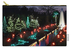 Christmas Reflections Carry-all Pouch by Rodney Lee Williams