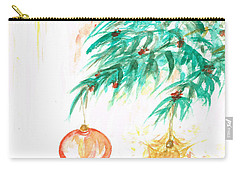 Carry-all Pouch featuring the painting Christmas Star by Teresa White