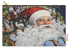 Christmas Stowaway Carry-all Pouch