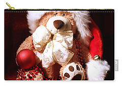 Christmas Teddy Carry-all Pouch