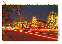 Carry-all Pouch featuring the photograph Christmas Town Usa by Alex Grichenko
