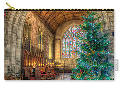 Christmas Tree Carry-all Pouch by Adrian Evans