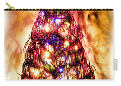 Carry-all Pouch featuring the digital art Christmas Tree by Daniel Janda