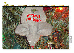 Carry-all Pouch featuring the photograph Christmas Tree Mouse by Joseph Baril