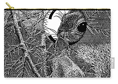 Christmas Tree Squirrel Carry-all Pouch