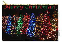 Christmas Trees Dancing In The Night Carry-all Pouch