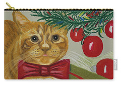 Christmas With Rufus Carry-all Pouch