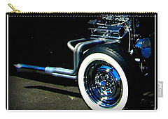 Carry-all Pouch featuring the photograph Chrome  by Bobbee Rickard