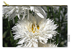 Chrysanthemum Named Crazy Daisy Carry-all Pouch by J McCombie