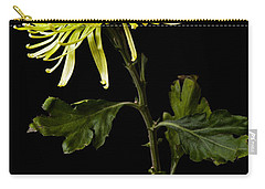 Carry-all Pouch featuring the photograph Chrysanthemum by Sennie Pierson