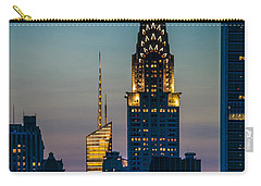 Chrysler Building At Sunset Carry-all Pouch