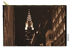 Chrysler Building Carry-all Pouch by Donna Blackhall