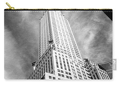 Chrysler Building Infrared Carry-all Pouch