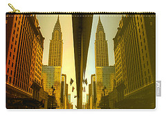 Chrysler Reflection On 42nd Street Carry-all Pouch