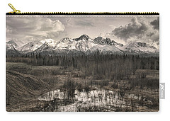 Chugach Mountain Range Carry-all Pouch