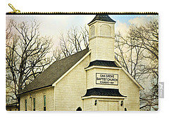 Carry-all Pouch featuring the photograph Church 12 by Marty Koch