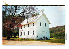 Carry-all Pouch featuring the photograph Church At Boxley by Marty Koch