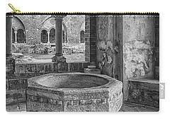 Church Christening Font Carry-all Pouch by Antony McAulay