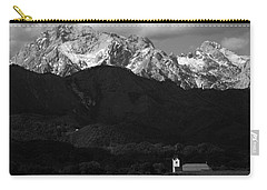 Church Of Saint Peter In Black And White Carry-all Pouch