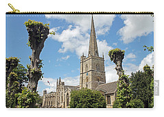 Church Of St John The Baptist Carry-all Pouch by Tony Murtagh