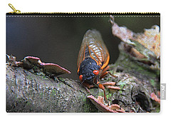 Cicada - The Red-eyed Monster Carry-all Pouch by Yvonne Wright